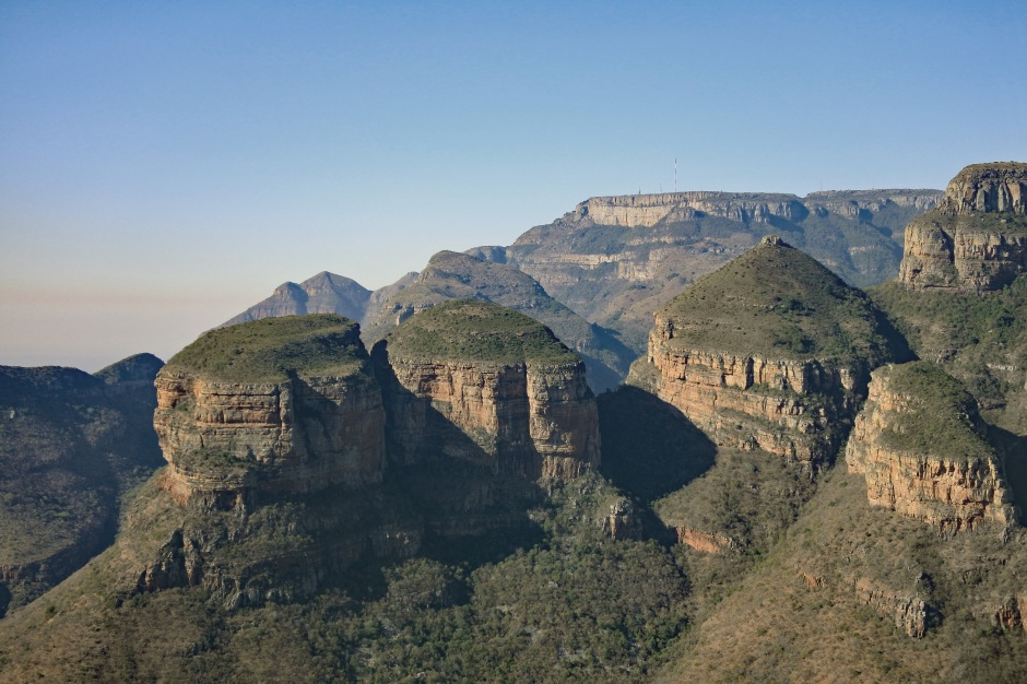 The Three Rondavels, Blyde River Canyon, Afrique du Sud