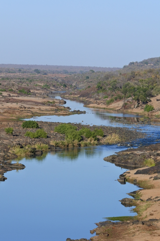river, Kruger NP, South Africa