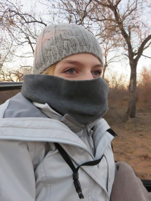 Froid, safari, Karongwe Game Reserve, Afrique du Sud