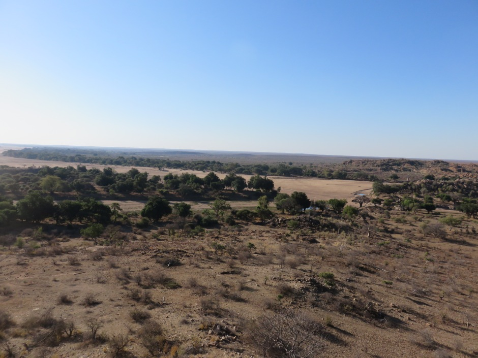 Confluence view point, Limpopo valley, Mapungubwe, South Africa
