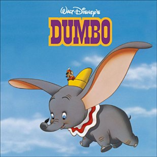Dumbo, cartoon, film, Walt Disney, elephant, flying elephant, children tale