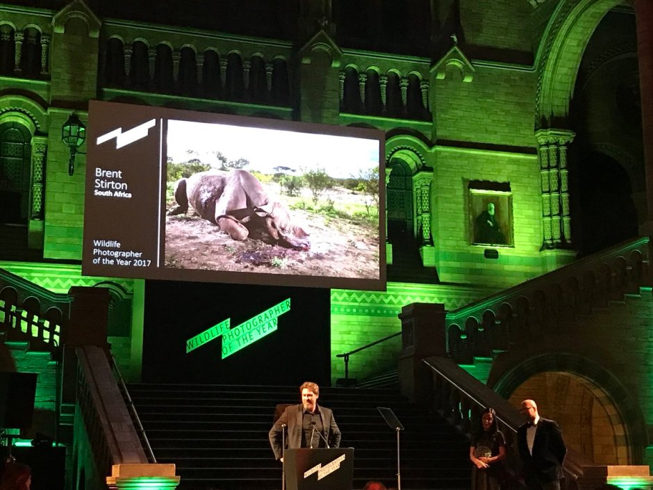 Brent Stirton, Wildlife Photographer of the Year, London, Natural History Museum, South Africa