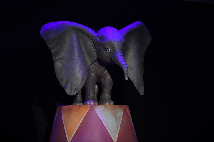 Dumbo 2019, Tim Burton film, elephant, remake, Walt Disney