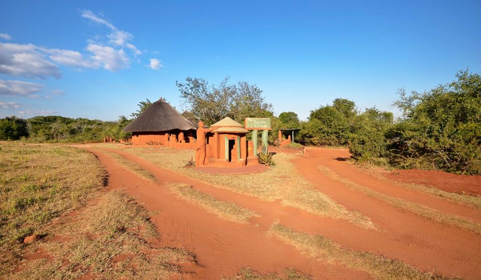 Venda Village, lodge, Leshiba Wilderness, Limpopo, South Africa, Venda culture, art