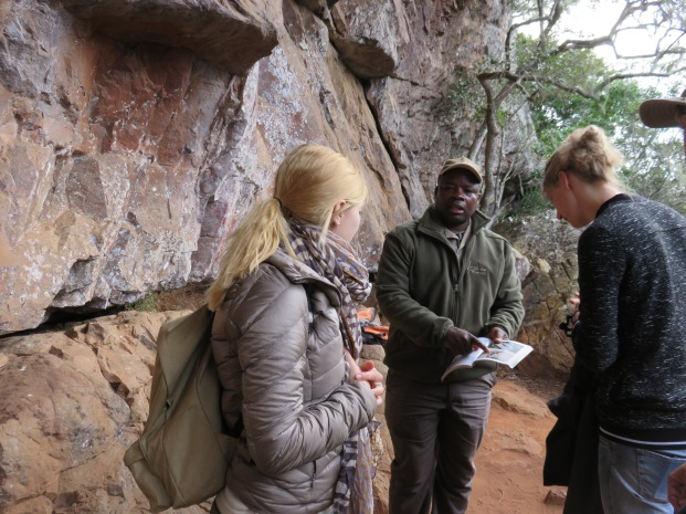 Bushmen archaeological site, San art, Leshiba Wilderness, private reserve, Limpopo, South Africa