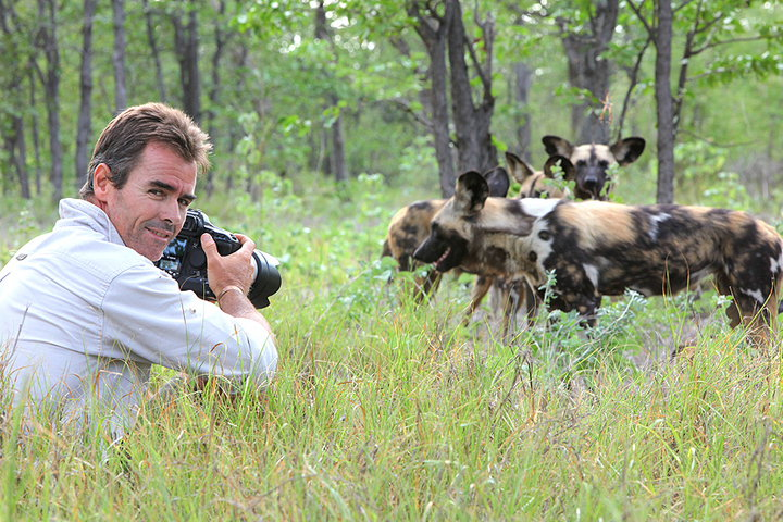 Kim Wolhuter, wild dogs, photographer, filmmaker, conservationist, wildlife, Africa