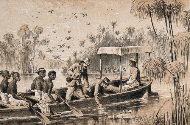 Henry Morton Stanley, David Livingstone, river Rusizi, expedition, Africa