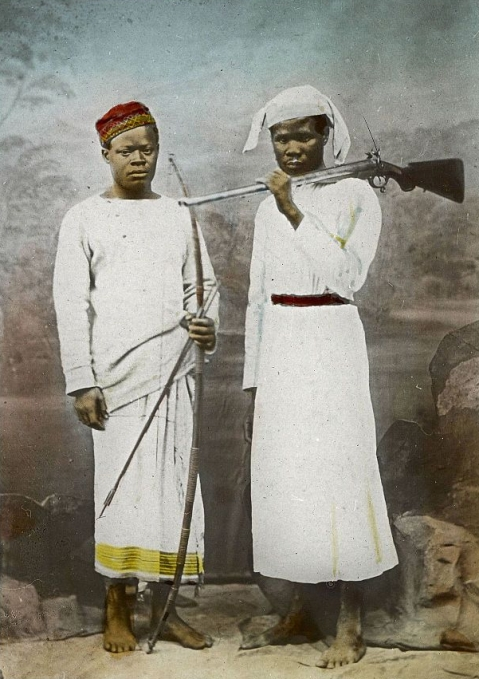Susi and Chuma, David Livingstone last expedition, Africa