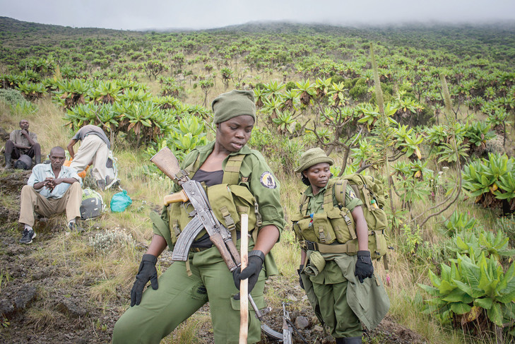 rangers, women, female rangers, DRC, Virunga National Park