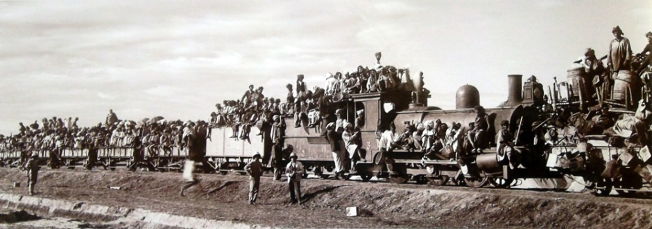 Uganda Railway, Indian coolies, Voi Station, Kenya, Lunatic Express