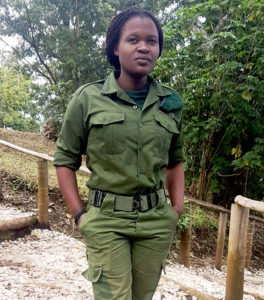 Rachel Masika Baraka, ranger, Virunga National Park, Democratic Republic of Congo, killed after trying to save tourists