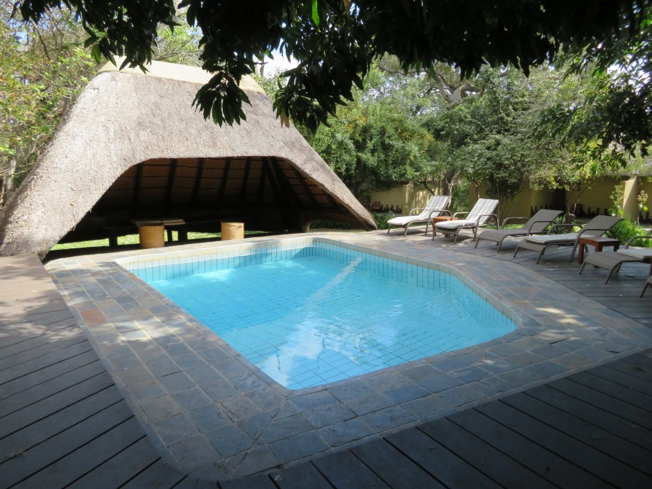 Namushasha River Lodge, Gondwana Collection, swimming pool, Namibia