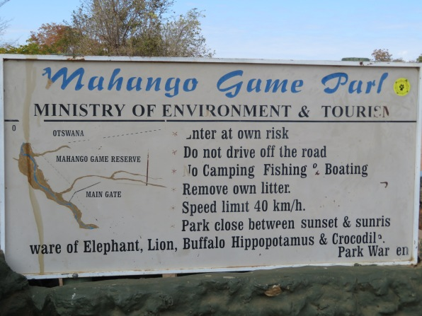 Mahango Game Park, Bwabwata National Park, Caprivi Strip, Namibia